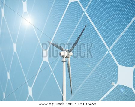 Sustainable energy concept