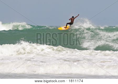 Shortboard Surfer