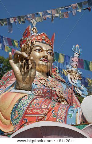 Padmasambava statue