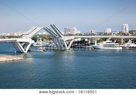 Intracoastal Waterway In Ft. Lauderdale, Florida