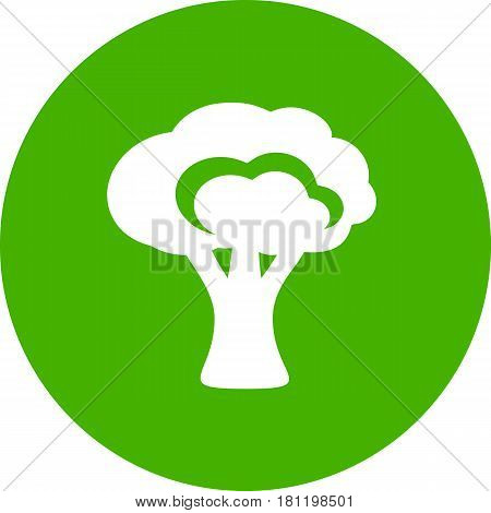 Broccoli Silhouette