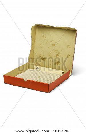 Empty Pizza Delivery Box