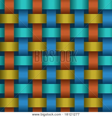 Interweaving Color Tapes - Texture Vector