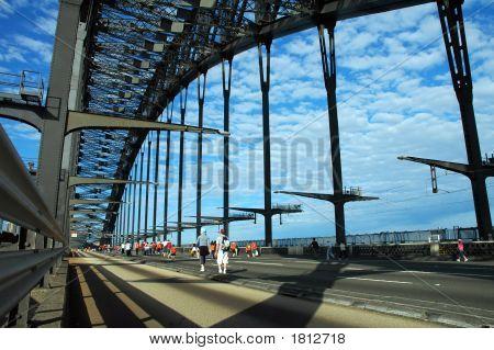 Walking Harbor Bridge