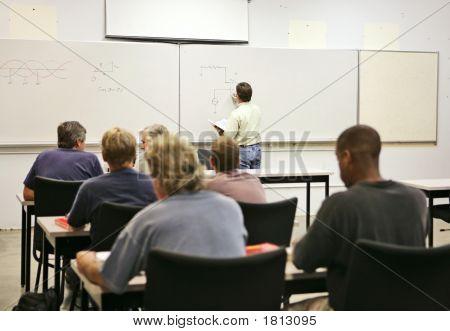 Erwachsenenbildung-Klasse