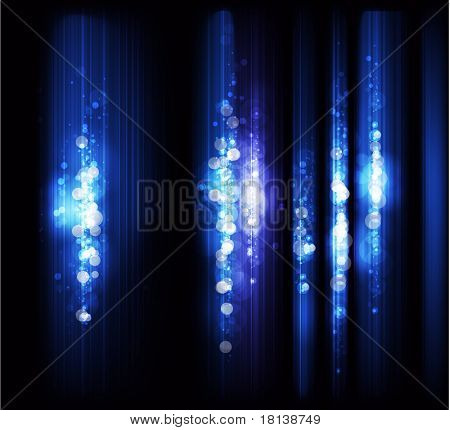 EPS10 - very nice high quality 3D background- growing effect