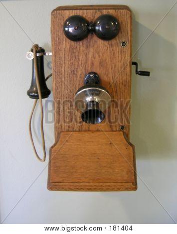 Teléfono antiguo Vintage