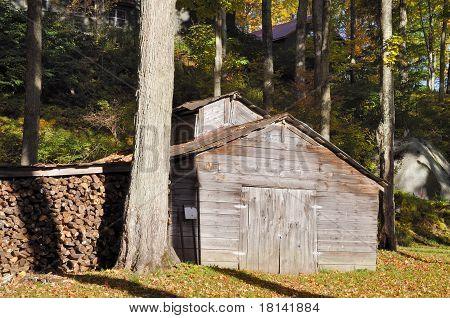 Sugaring Shed