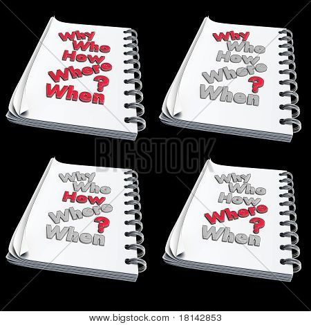 3D - Note With Text