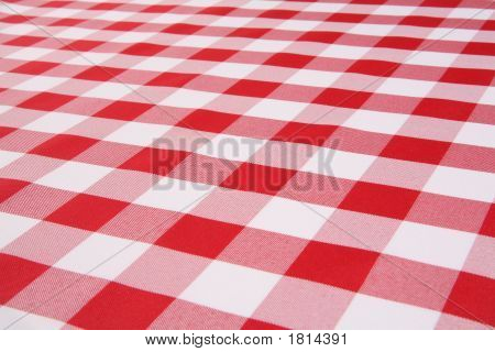 Plaid Tablecloth