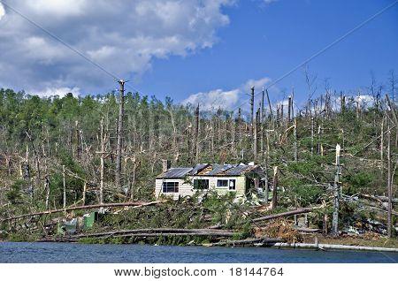 Tornado In North Georgia
