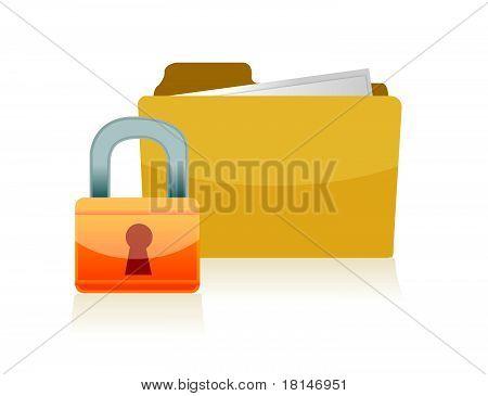 3d folder locked