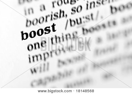 Boost (the Dictionary Project)