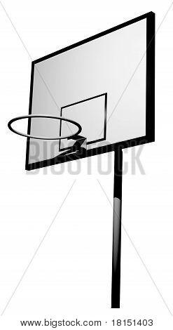 Basketball board 3D