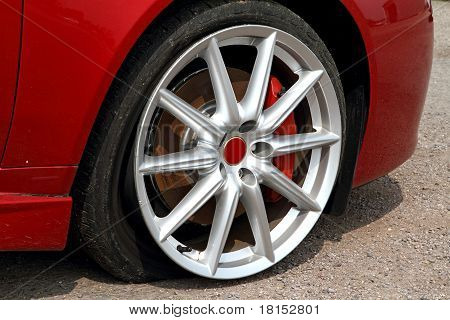 Damaged Wheel