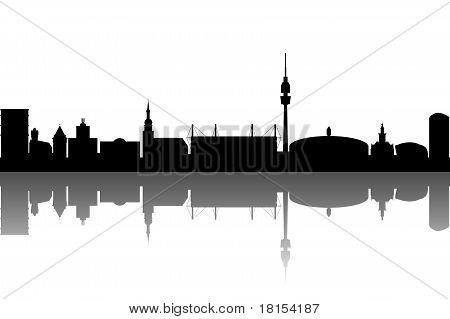 Dortmund Skyline abstract