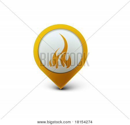Fire Web Icon