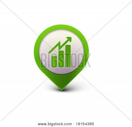 Business Graph Web Icon