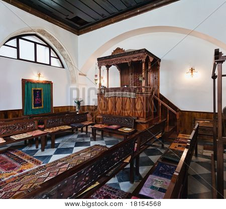Synagogue In Chania, Crete, Greece