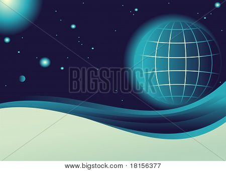 planet in the cosmos