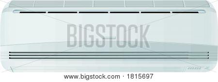 Air-Conditioner Vector Illustration