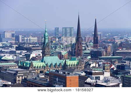 Hamburg Skyline