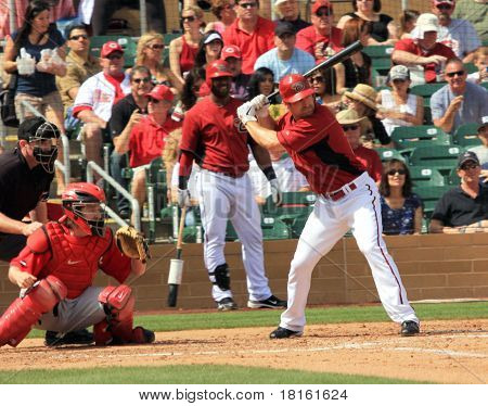 Arizona Diamondbacks Right Handed Batter Xavier Nady