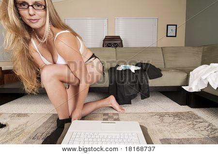 Web Cam Striptease