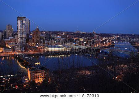 Night Pittsburgh