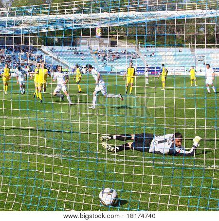 Artem Milevskyy Scores The Penalty