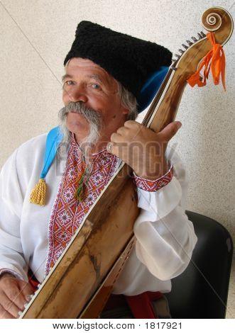 Elder Ukrainian Bandurist Muscian 18