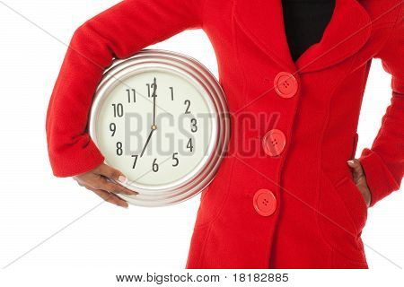 The Time Wih Red Coat