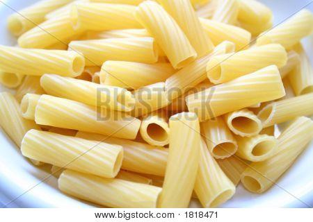 Dish Of Pasta Maccheroni Rigatoni