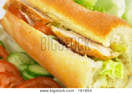 Chicken Salad Roll