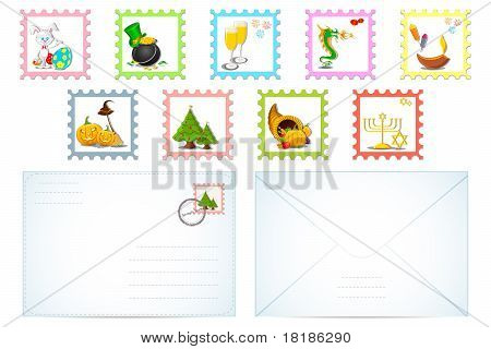Set of Letter for Different Holiday