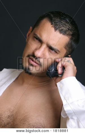 Man At The Telephone
