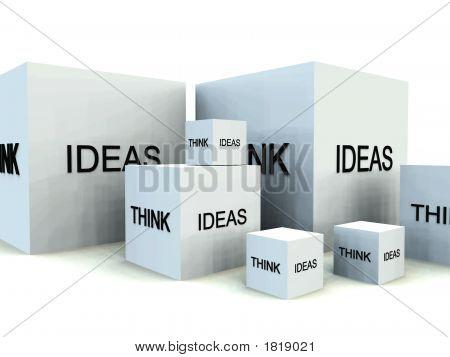 Denken Sie an Ideen