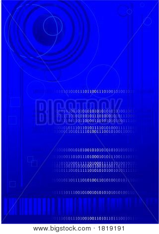 Binary Code And Shapes