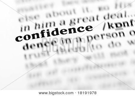 Confidence (the Dictionary Project)