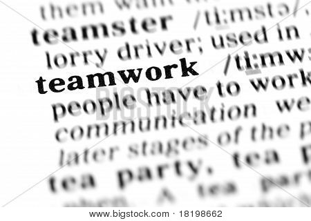 Teamwork (the Dictionary Project)