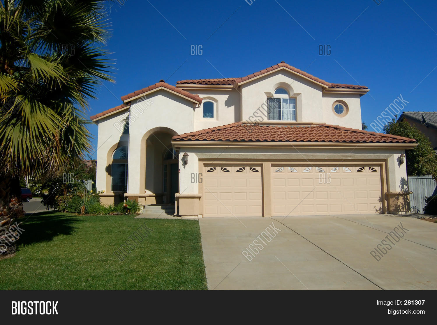 Nice house california image photo bigstock for Nice house photo
