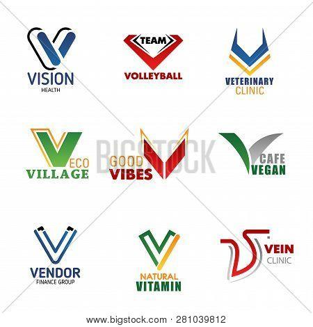 Letter V Business Corporate Identity
