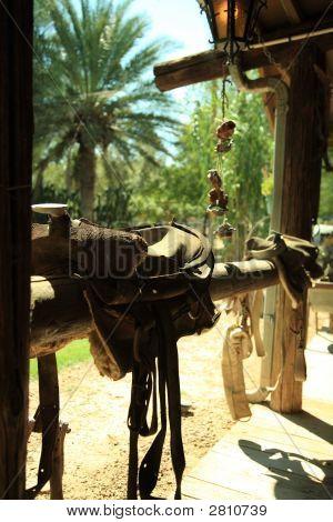 Saddle On Fence Rail