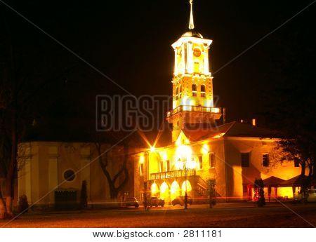 City Hall At Night