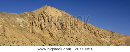 Barren mountain peak