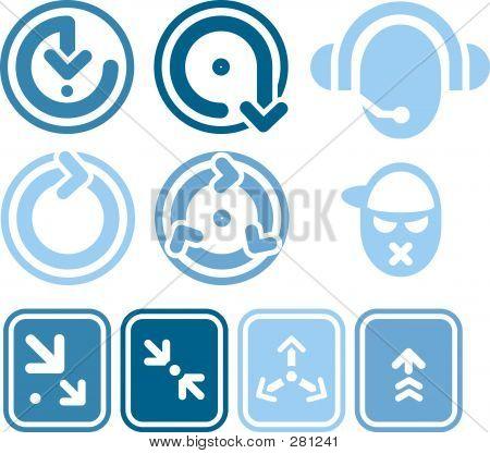 Design-Elemente. Ikonen s. 1 b