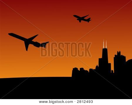 Planes Leaving Chicago