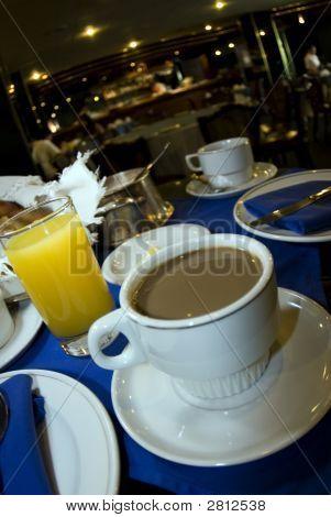 Continental Breakfast Hotel Dining Room