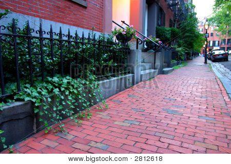 Beacon Hill, Boston..
