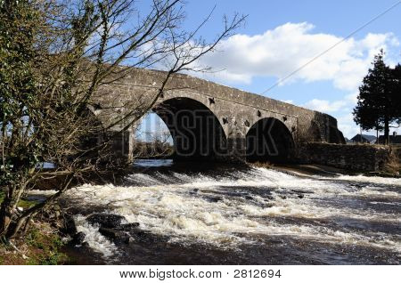 'Weak' Bridge, County Tyrone, Ireland.